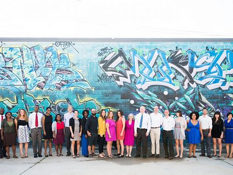 Introducing the 2013-2014 class of Accelerator Fellows. Photo by Rush Jagoe.