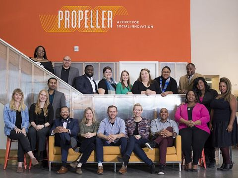 Propeller's 2018 Growth Accelerator class includes 18 ventures tackling disparities in food, water, health, and education.
