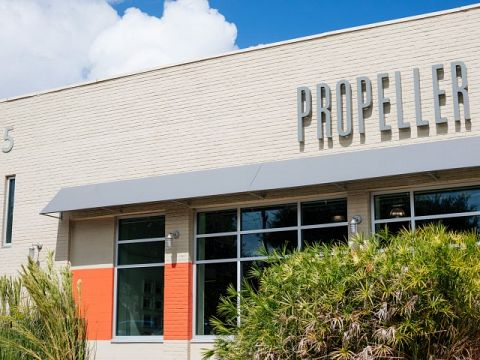 The Propeller Incubator is located in the heart of the city at 4035 Washington Avenue, minutes away from the Central Business District, Uptown, and Mid-City.