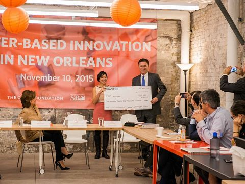 JPMorgan Chase Announces $125,000 for Water Entrepreneurs At Event